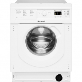 Hotpoint Integrated 7kg/5kg 1400 Spin Washer Dryer - White